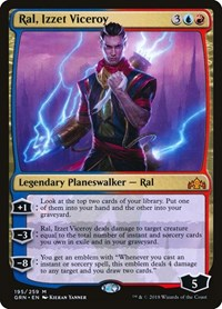 Ral, Izzet Viceroy, Magic: The Gathering, Guilds of Ravnica