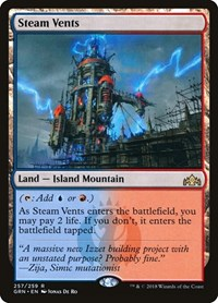 Steam Vents, Magic: The Gathering, Guilds of Ravnica