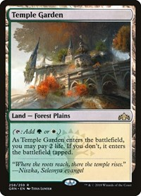 Temple Garden, Magic: The Gathering, Guilds of Ravnica