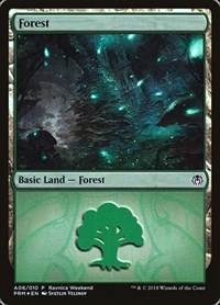 Forest - Golgari (A06), Magic: The Gathering, Launch Party & Release Event Promos