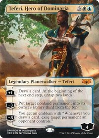 Teferi, Hero of Dominaria, Magic: The Gathering, Mythic Edition: Guilds of Ravnica