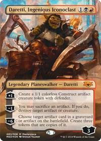 Daretti, Ingenious Iconoclast (Foil)