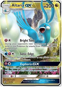 Altaria GX, Pokemon, Dragon Majesty