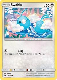 Swablu (57), Pokemon, Dragon Majesty