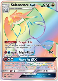 Salamence GX (Secret), Pokemon, Dragon Majesty