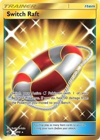 Switch Raft (Secret), Pokemon, Dragon Majesty