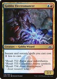 Goblin Electromancer, Magic: The Gathering, Guilds of Ravnica