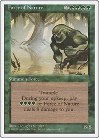 Force of Nature, Magic: The Gathering, Fourth Edition