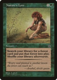 Nature's Lore, Magic: The Gathering, Portal Second Age