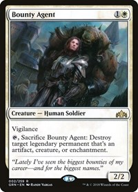 Bounty Agent, Magic: The Gathering, Guilds of Ravnica