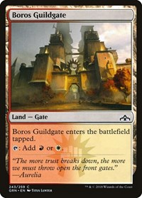 Boros Guildgate (243), Magic: The Gathering, Guilds of Ravnica