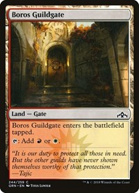 Boros Guildgate (244), Magic: The Gathering, Guilds of Ravnica