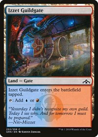 Izzet Guildgate (252), Magic: The Gathering, Guilds of Ravnica