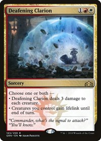 Deafening Clarion, Magic: The Gathering, Guilds of Ravnica