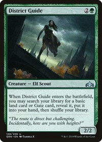 District Guide, Magic: The Gathering, Guilds of Ravnica