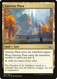 Gateway Plaza, Magic: The Gathering, Guilds of Ravnica