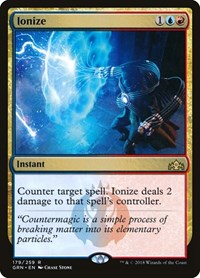 Ionize, Magic: The Gathering, Guilds of Ravnica