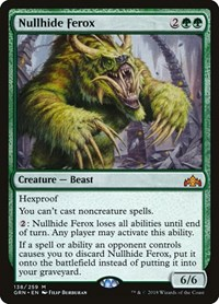 Nullhide Ferox, Magic: The Gathering, Guilds of Ravnica