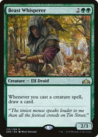 Beast Whisperer, Magic: The Gathering, Guilds of Ravnica