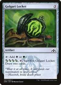 Golgari Locket, Magic, Guilds of Ravnica