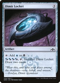 Dimir Locket, Magic: The Gathering, Guilds of Ravnica