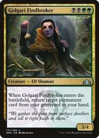 Golgari Findbroker, Magic, Guilds of Ravnica