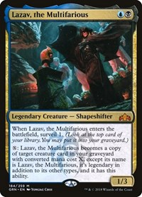 Lazav, the Multifarious, Magic: The Gathering, Guilds of Ravnica