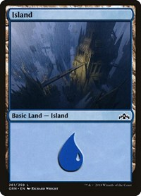 Island, Magic, Guilds of Ravnica