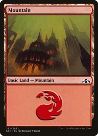 Mountain, Magic: The Gathering, Guilds of Ravnica