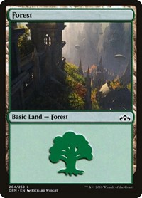 Forest, Magic: The Gathering, Guilds of Ravnica