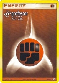 Fighting Energy (2004-2005), Pokemon, Professor Program Promos