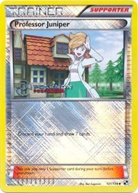 Professor Juniper - 101/114 (2013), Pokemon, Professor Program Promos
