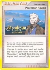 Professor Rowan (2007), Pokemon, Professor Program Promos