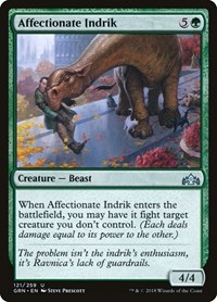 Affectionate Indrik, Magic: The Gathering, Guilds of Ravnica