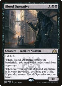 Blood Operative, Magic: The Gathering, Guilds of Ravnica