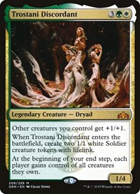 Trostani Discordant, Magic: The Gathering, Guilds of Ravnica