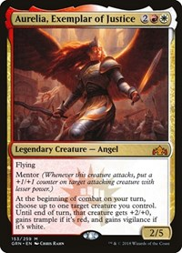 Aurelia, Exemplar of Justice, Magic: The Gathering, Guilds of Ravnica