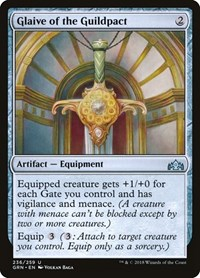 Glaive of the Guildpact, Magic: The Gathering, Guilds of Ravnica