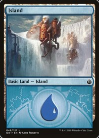 Island (48), Magic: The Gathering, Guilds of Ravnica: Guild Kits