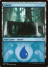 Island (24), Magic: The Gathering, Guilds of Ravnica: Guild Kits