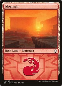 Mountain (101), Magic: The Gathering, Guilds of Ravnica: Guild Kits
