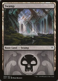 Swamp (25), Magic: The Gathering, Guilds of Ravnica: Guild Kits