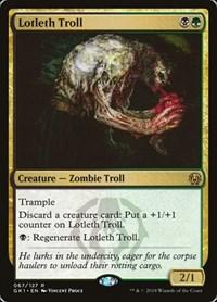 Lotleth Troll, Magic, Guilds of Ravnica: Guild Kits