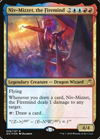 Niv-Mizzet, the Firemind, Magic: The Gathering, Guilds of Ravnica: Guild Kits