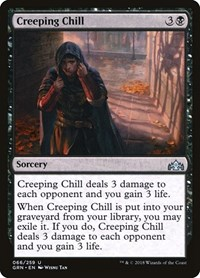 Creeping Chill, Magic: The Gathering, Guilds of Ravnica
