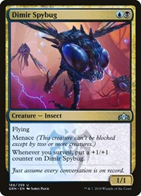 Dimir Spybug, Magic: The Gathering, Guilds of Ravnica