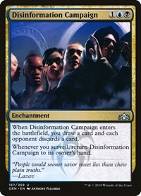 Disinformation Campaign, Magic: The Gathering, Guilds of Ravnica