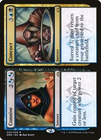 Connive // Concoct, Magic: The Gathering, Guilds of Ravnica