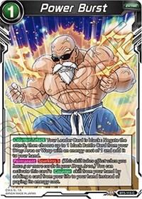 Power Burst, Dragon Ball Super CCG, Miraculous Revival