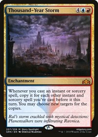 Thousand-Year Storm, Magic: The Gathering, Guilds of Ravnica